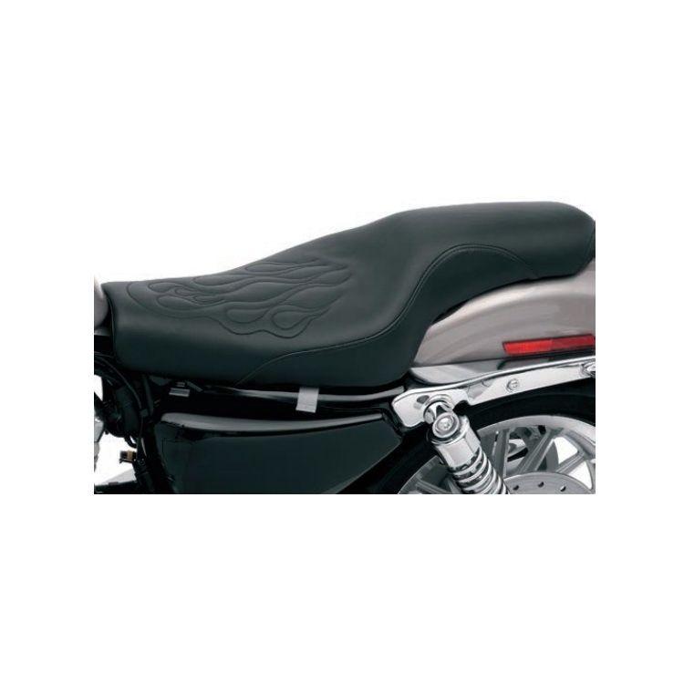 Saddlemen Profiler Tattoo Seat For Harley Sportster With 3.3 Gallon Tank 2004-2018