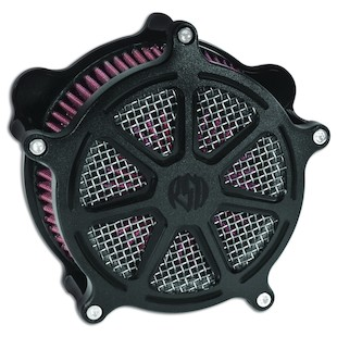 Roland Sands Venturi Morris Air Cleaner For Harley Big Twin With S&S Carburetor 1993-2006 (Finish: Black Ops) 871593
