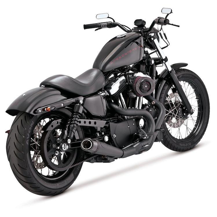 Roland Sands Slant Carbon Fiber Air Cleaner For Harley Sportster 1991-2019