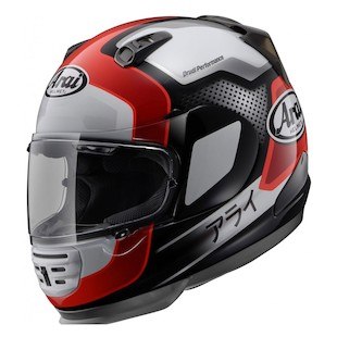 Arai Defiant Character Helmet - (Size 2XL Only) (Color: Red / Size: 2XL) 886223