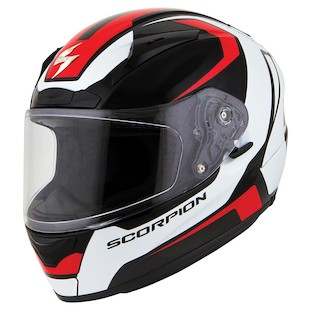 Scorpion EXO-R2000 Masbou Helmet (Color: Black/Red / Size: XL) 970799