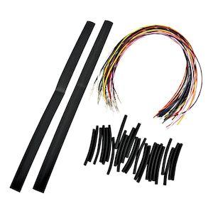Burly Handlebar Cable Installation Kit For Harley Road King
