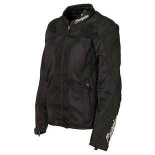 Scorpion Nip Tuck II Women's Jacket (Color: Black / Size: SM) 888660