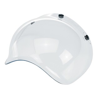 Biltwell Bubble Face Shield (Color: Clear) 889993