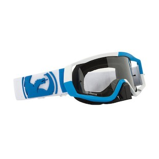 Dragon Vendetta Goggles (Frame: Blue/White / Lens: Clear AFT) 893292
