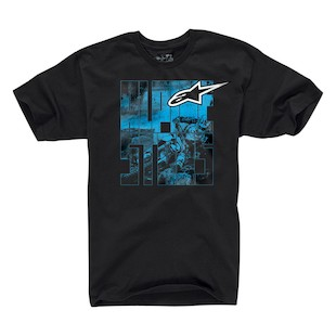 Alpinestars Moto Type Classic T-Shirt (Color: Black / Size: MD) 836218