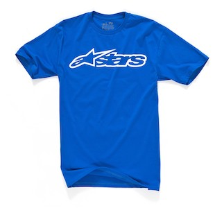 Alpinestars Blaze T-Shirt (Color: Blue / Size: 2XL) 844593