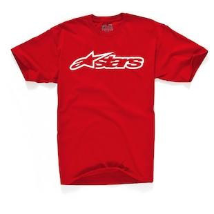 Alpinestars Blaze T-Shirt (Color: Red / Size: MD) 844595