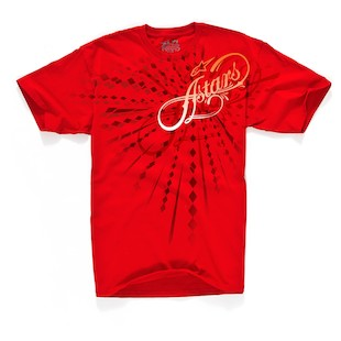 Alpinestars Leopold T-Shirt (Color: Red / Size: MD) 844725