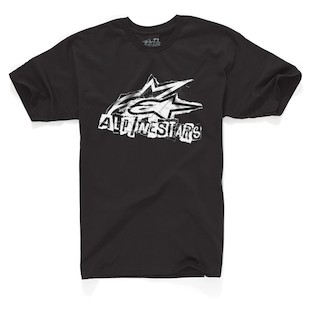Alpinestars Vandal T-Shirt (Color: Black / Size: MD) 844774