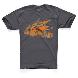 Alpinestars Vandal T-Shirt (Color: Charcoal / Size: 2XL) 843646