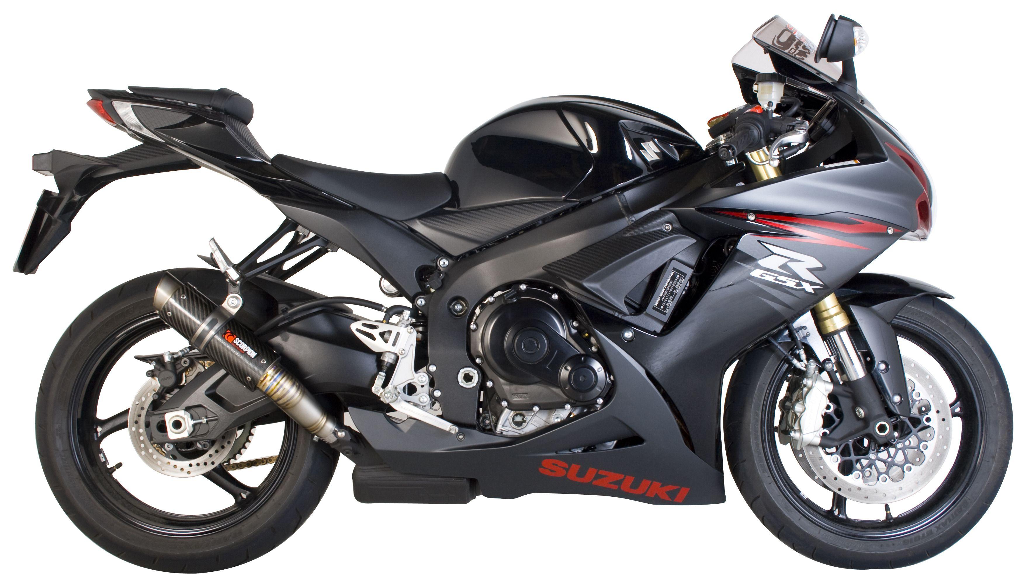 scorpion rp 1 gp series slip on exhaust suzuki gsx r600 gsxr 750 2011 2018 cycle gear. Black Bedroom Furniture Sets. Home Design Ideas
