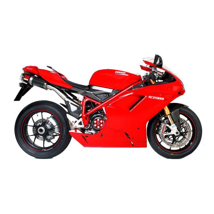 Scorpion Factory Oval Slip-On Exhaust Ducati 1098 S 2008-2009