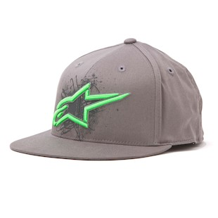 Alpinestars Scribble 210 Hat (Color: Charcoal / Size: SM-MD) 843875