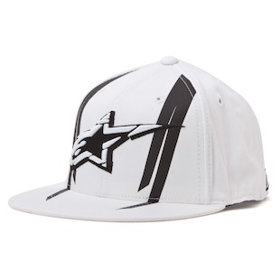 Alpinestars Official 210 Hat (Color: White / Size: SM-MD) 843976