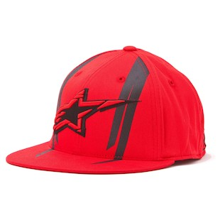 Alpinestars Official 210 Hat (Color: Red / Size: SM-MD) 843974