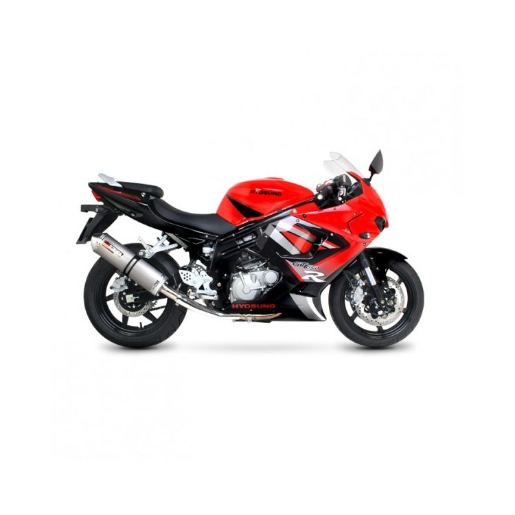 Scorpion Factory Oval Bolt-On Exhaust Hyosung GT650 / GT650R / GT650S