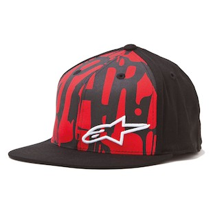 Alpinestars McCarthy Hat (Color: Red / Size: LG-XL) 843981
