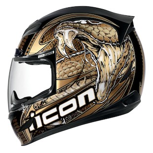 Icon Airmada Charmer Helmet (Color: Gold / Size: XL) 886622
