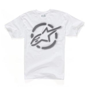 Alpinestars Go Joe T-Shirt (Color: White / Size: MD) 892548