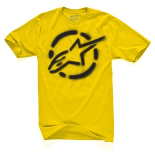 Alpinestars Go Joe T-Shirt (Color: Gold / Size: SM) 892557