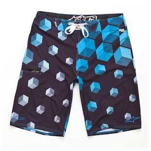 Alpinestars Arubix Boardshorts - (Size 32 Only) (Color: Blue / Size: 32) 891716