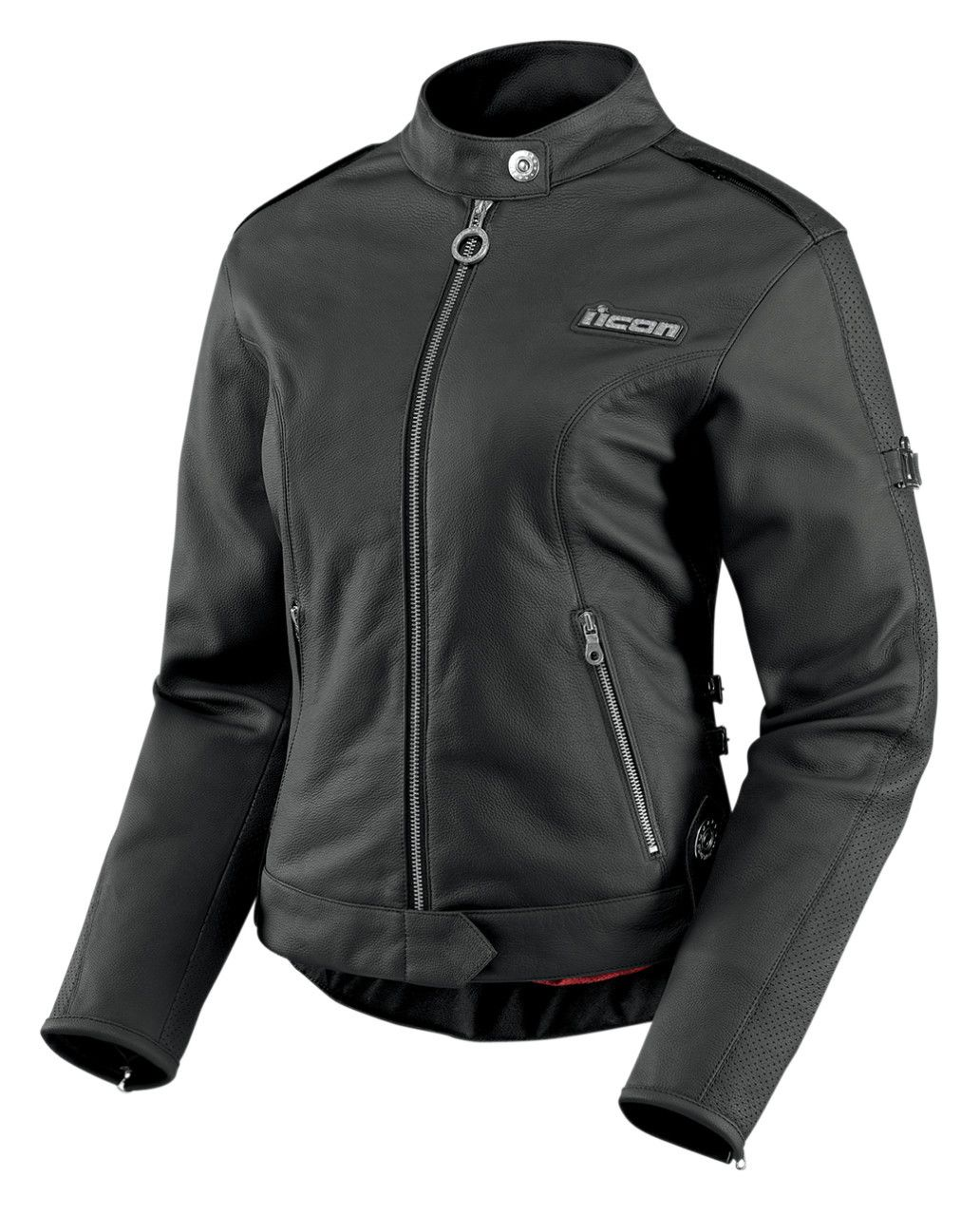 Icon Hella Women's Leather Jacket | 20% ($80.00) Off! - Cycle Gear