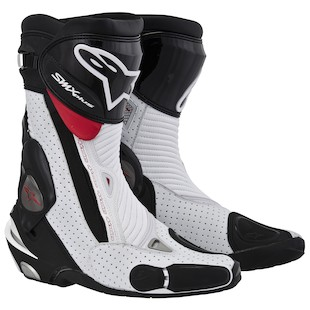 Alpinestars SMX Plus Vented Boots (Color: Black/White/Red / Size: 39) 897222