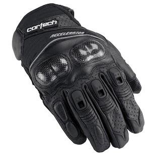 Cortech Accelerator 3 Gloves (Color: Black/Black / Size: MD) 796439