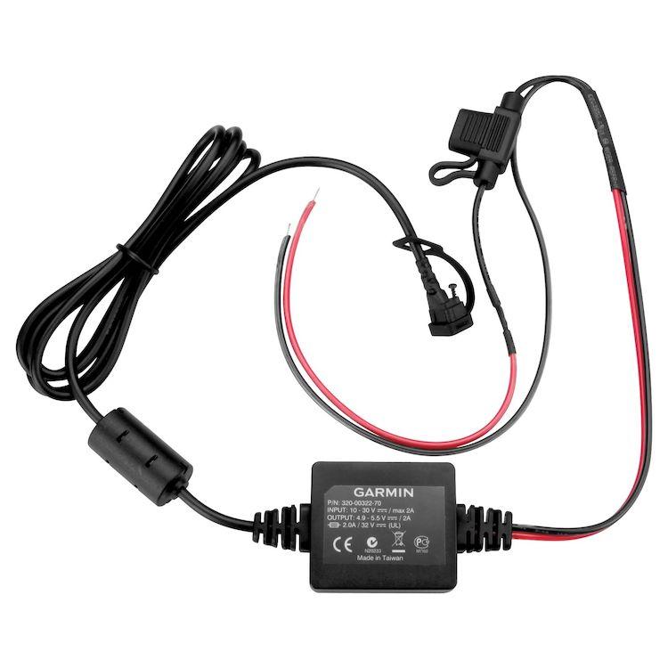 Garmin 350LM Moto Power Cable