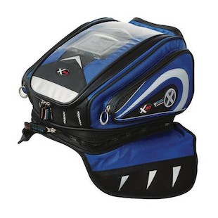 Oxford X30 Lifetime Tank Bag (Color: Blue / Type: Strap Mount) 897866