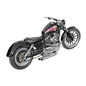 Closeout Bassani Pro Street Exhaust For Harley Sportster 1986 2003