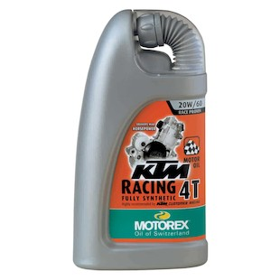 Motorex KTM Racing 4T Engine Oil (Type: 20W60 / Size: 1 Liter) 167254
