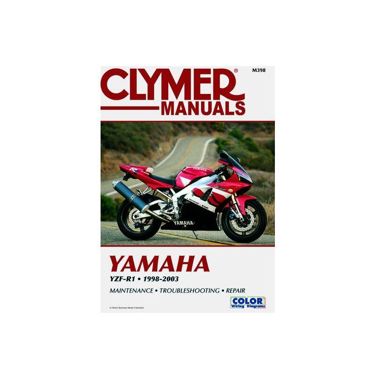 Clymer Manual Yamaha YZF-R1 1998-2003