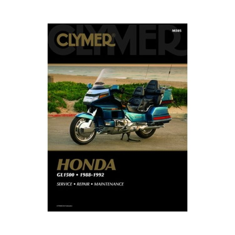 clymer manual honda gl1500 goldwing 1988 1992 Starter Circuit Wiring Diagram