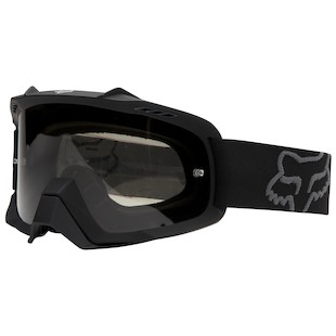 Fox Racing AIRSPC Sand Goggles (Color: Matte Black / Lens: Grey) 902144