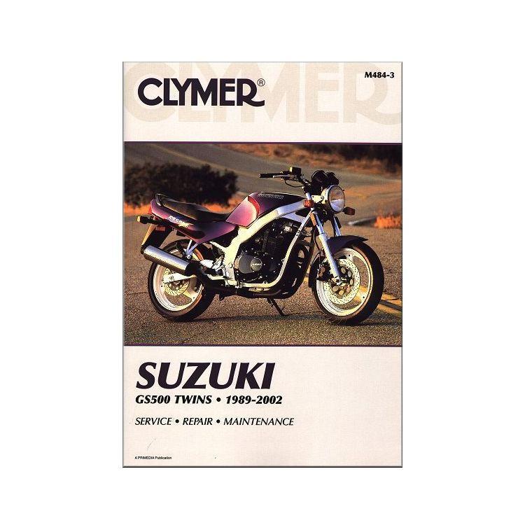 Clymer Manual Suzuki GS500 Twins 1989-2002