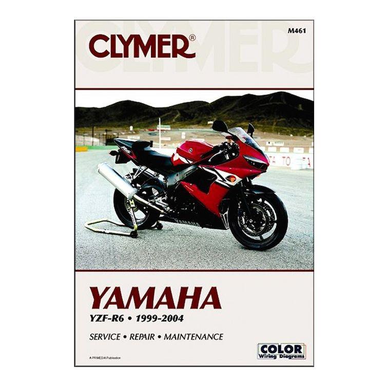Clymer Manual Yamaha YZF-R6 1999-2004
