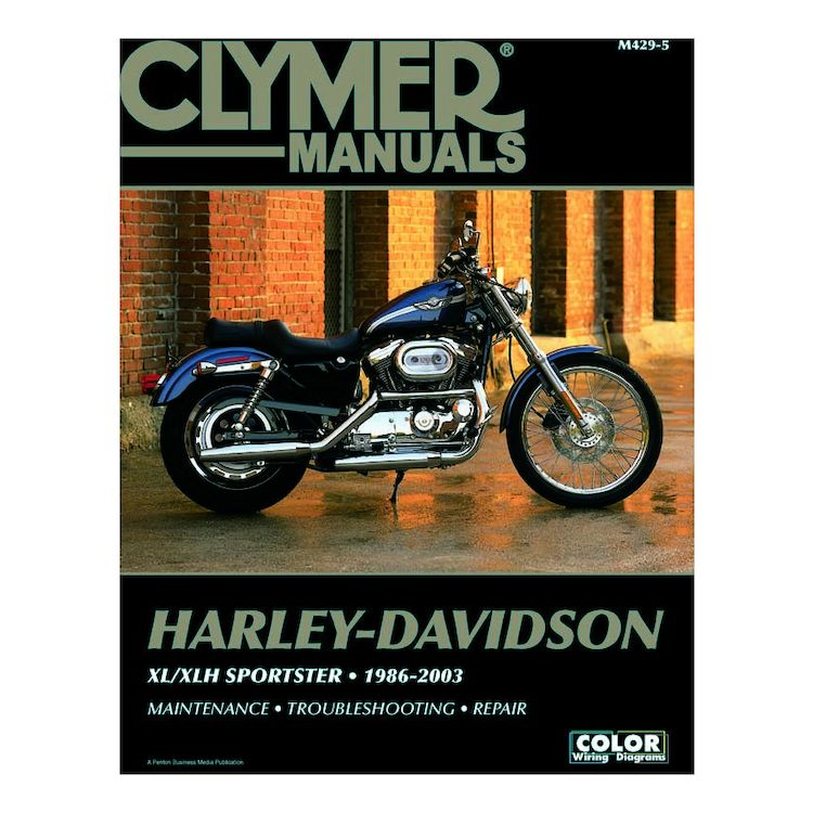 Clymer Manual Harley-Davidson XL / XLH Sportster 1986-2003 - Cycle on