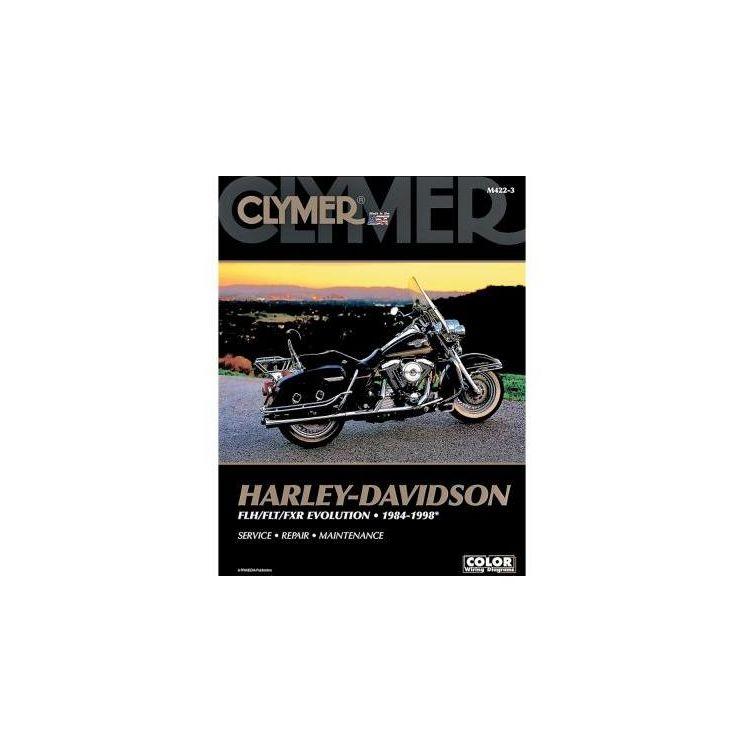 Clymer Manual Harley-Davidson FLH / FLT / FXR Evolution 1984-1998