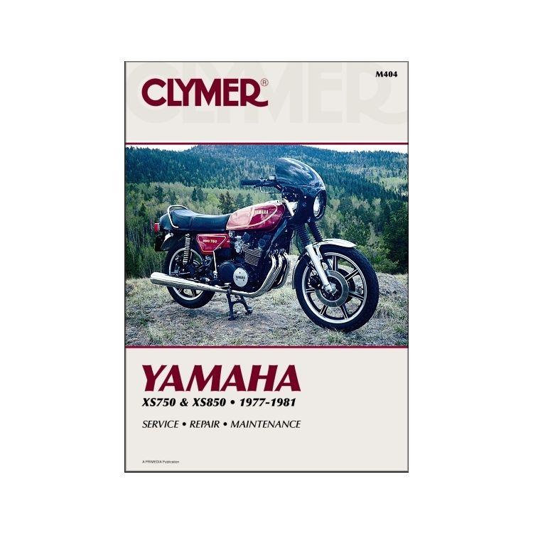 Clymer Manual Yamaha XS750 / XS850 1977-1981