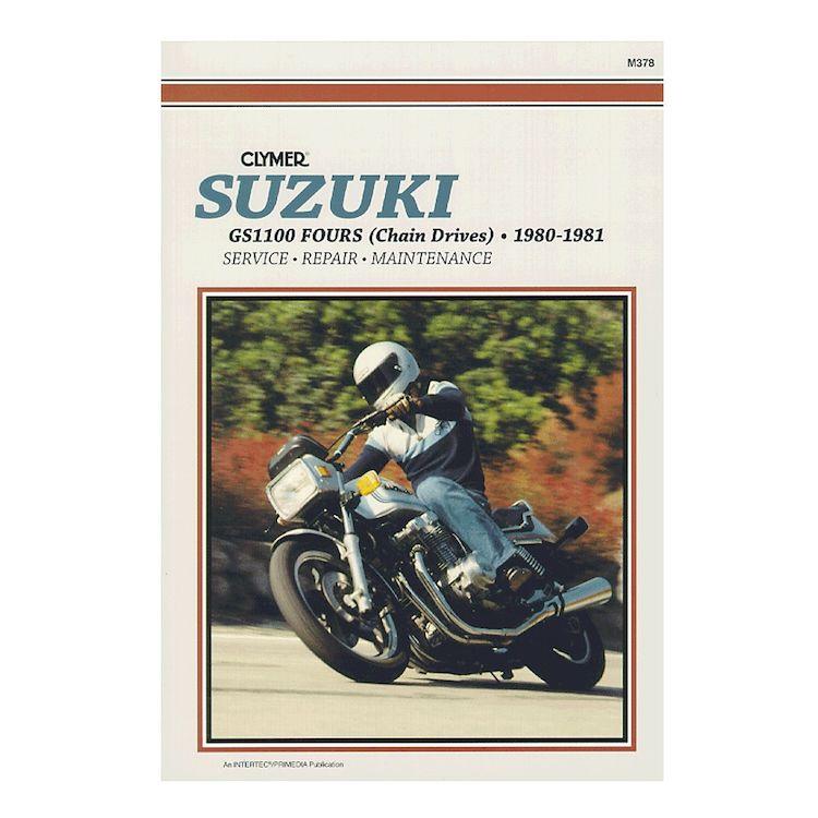 Clymer Manual Suzuki GS1100 Fours 1980-1981
