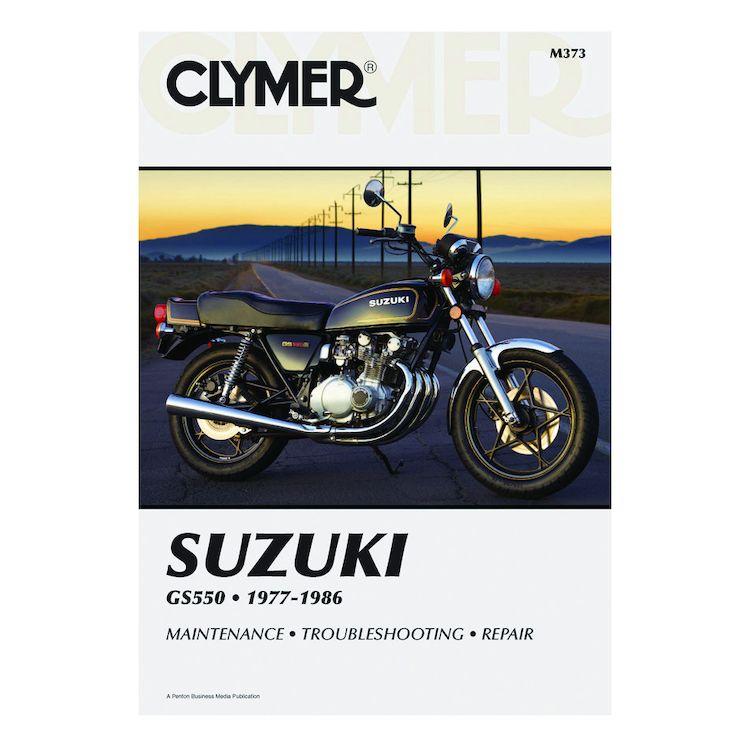 Clymer Manual Suzuki GS550 1977-1986