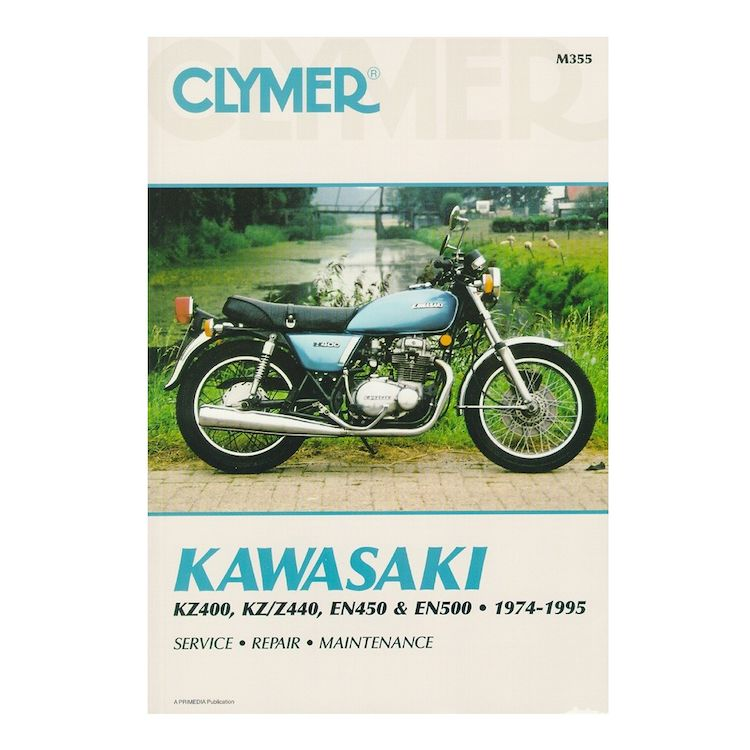 Clymer Manual Kawasaki KZ400 / KZ440 / EN450 / EN500