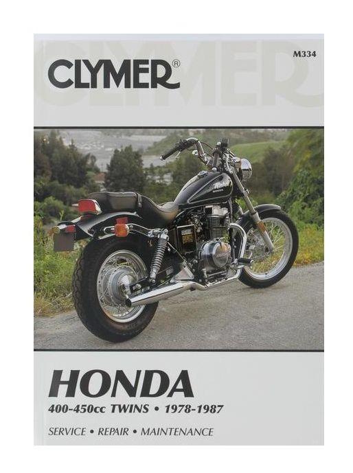 clymer manual honda 400 450 twins 1978 1987 cycle gear rh cyclegear com Honda CB1000R 1978 Honda CB400