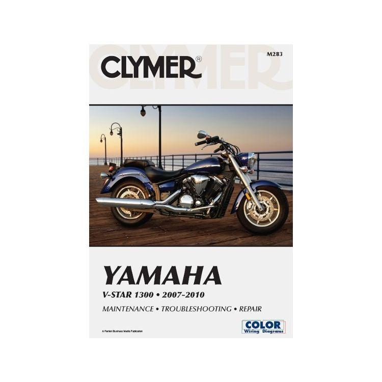 Clymer Manual Yamaha  V Star 1300 2007-2010