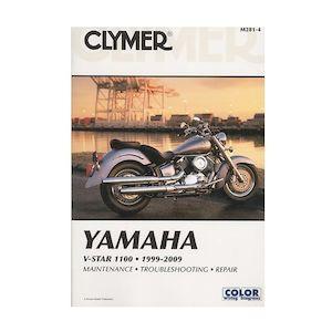 M283 Clymer Yamaha V-Star 1300 2007-2010 Repair Manual