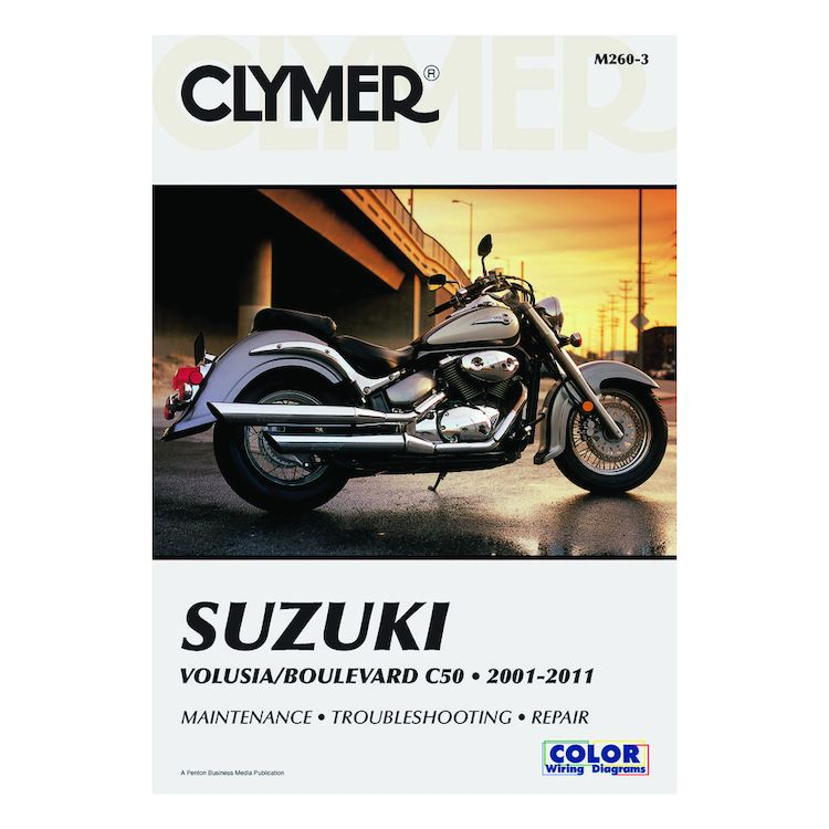 Clymer Manual Suzuki Volusia / Boulevard C50 2001-2011