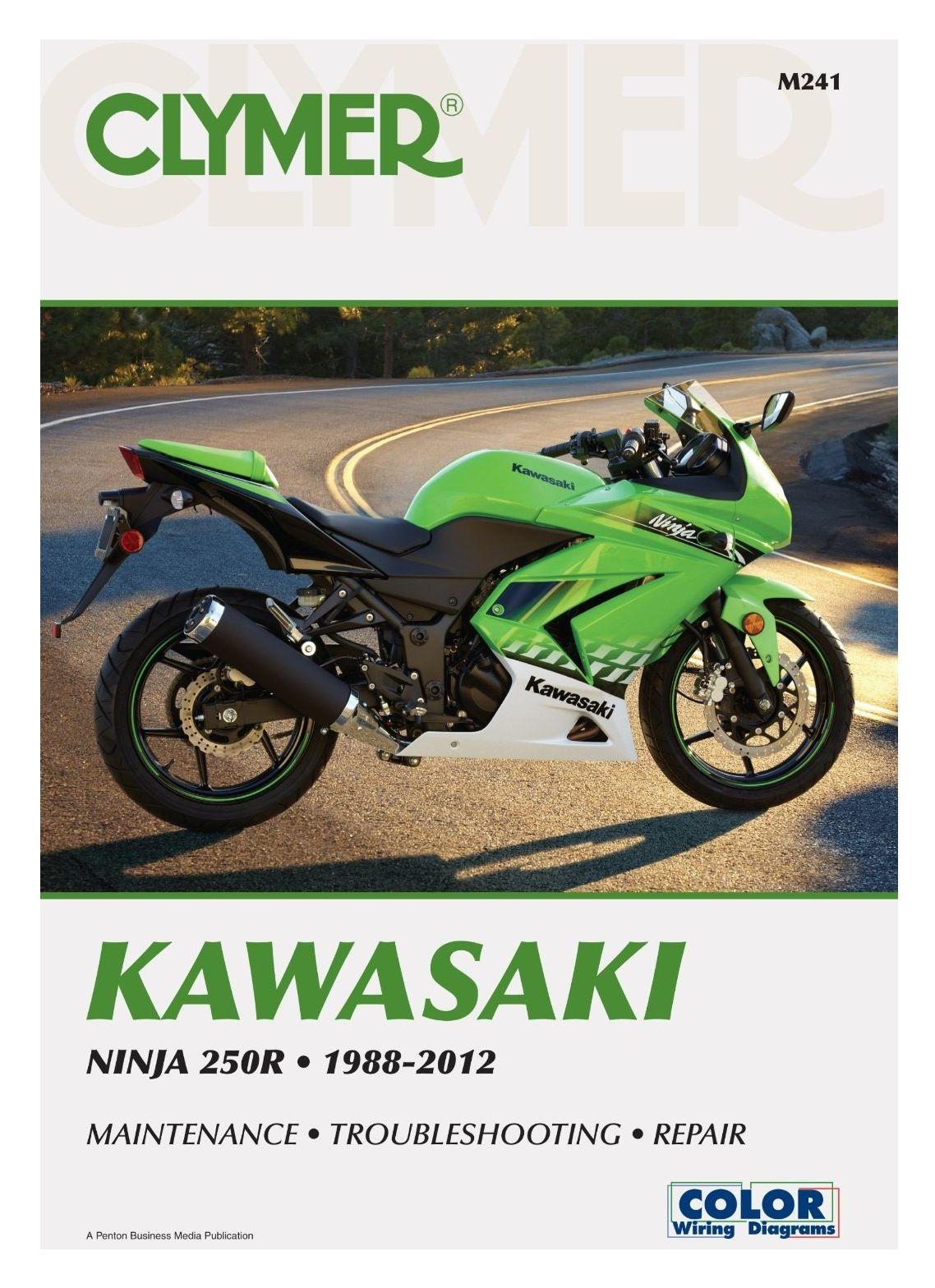 clymer manual kawasaki ninja 250r 1988 2012 cycle gear rh cyclegear com clymer harley manual review clymer service manual review