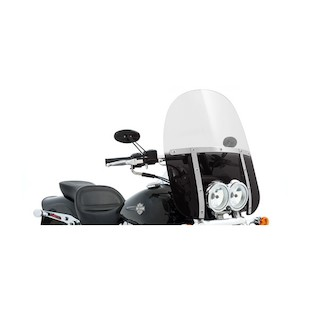 Memphis Shades Memphis Fats Windshield For Harley Fat Bob 2008-2017 (Color: Black / Size: 21 Tall) 905692